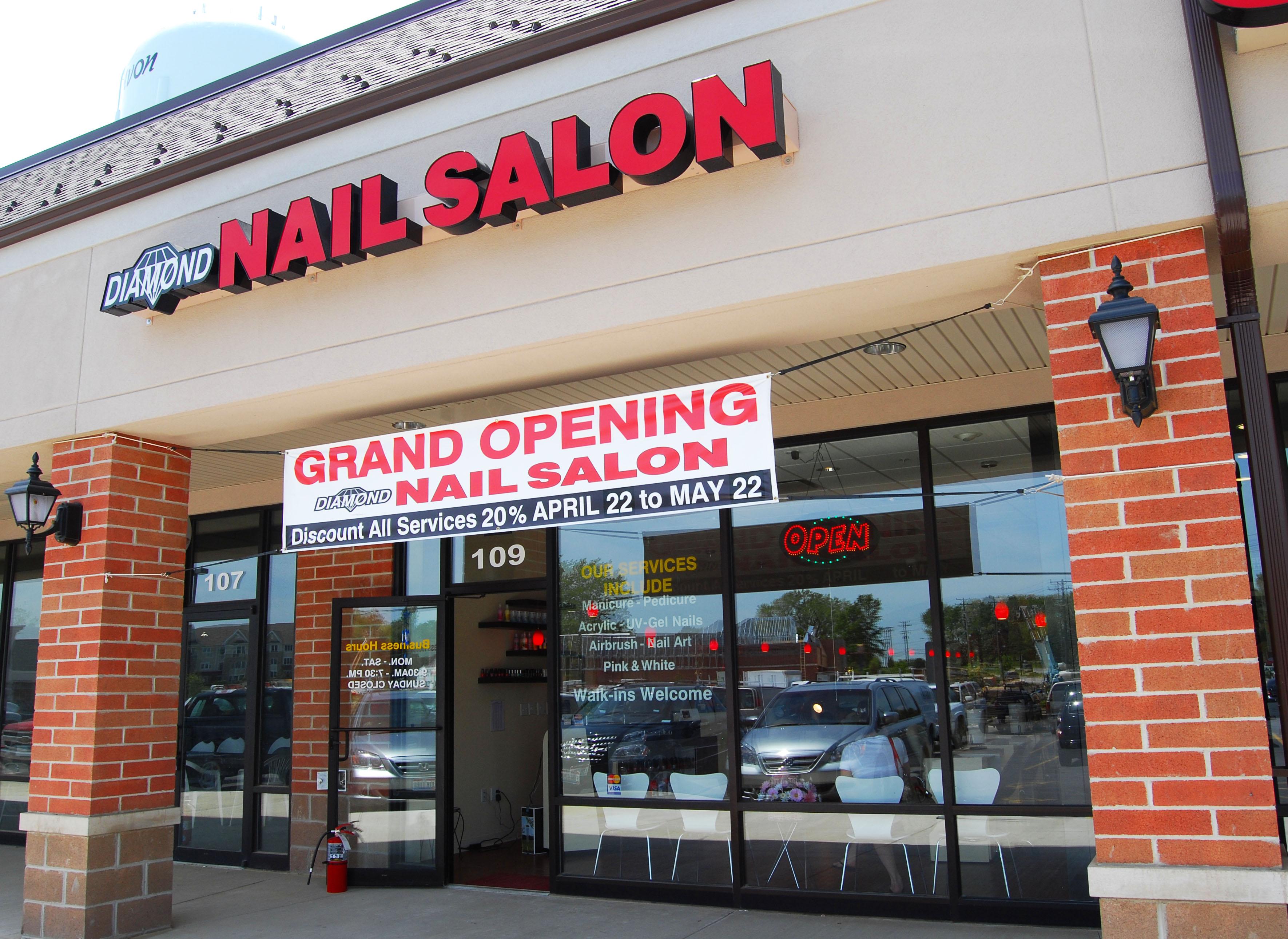 Fiorilli Construction » Diamond Nail Salon
